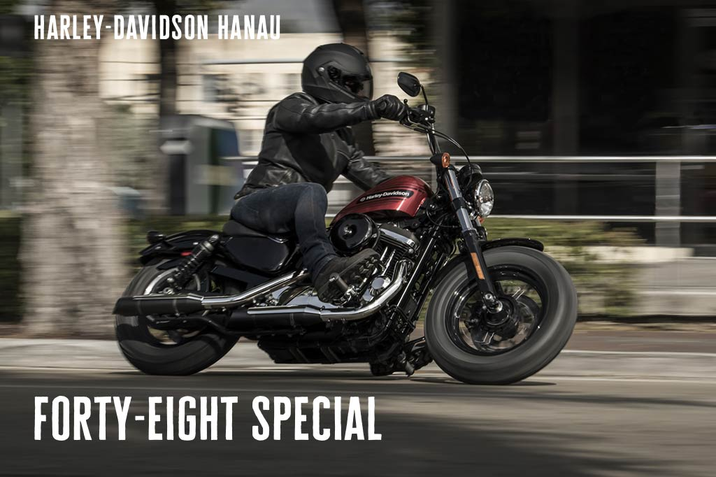 Harley-Davidson Hanau präsentiert die neue Forty-Eight Special