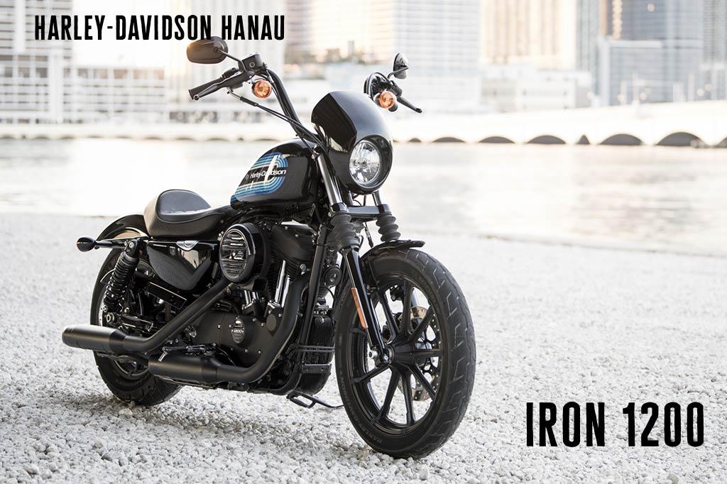 Harley-Davidson Hanau präsentiert die neue Iron 1200