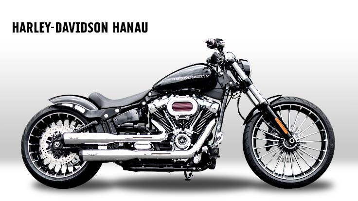Harley-Davidson Softail Breakout M'Eight 2019 Custombike