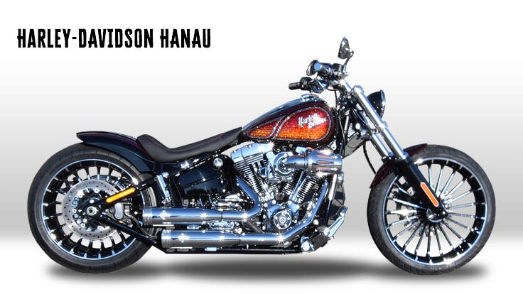 Harley-Davidson Softail Breakout Sunrise Custombike