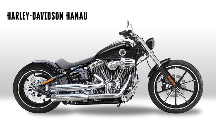 Harley-Davidson Breakout Dark'n'Chrome Custombike