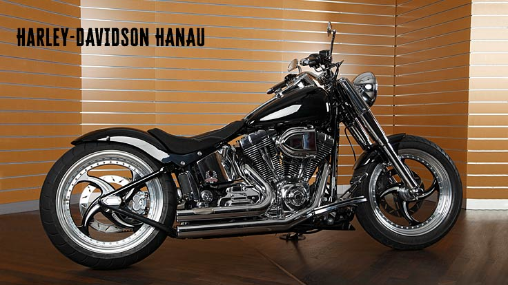 Harley-Davidson Softail Custombike Black Venom