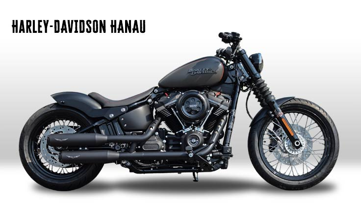 Harley-Davidson Softail Street Bob 2018 Umbau Olds Cool Custombike