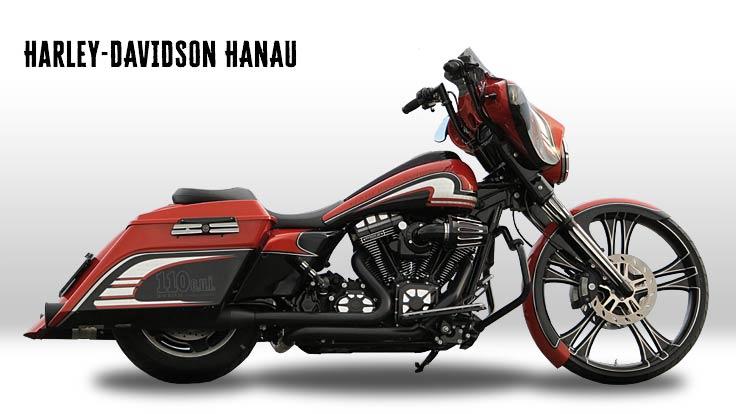 Touring Umbau Zum Custombike Mit Harley Davidson Hanau