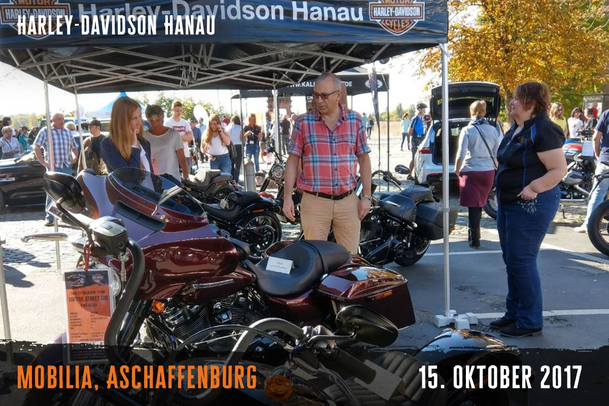 Harley-Davidson Hanau Mobilia Oktober 2017