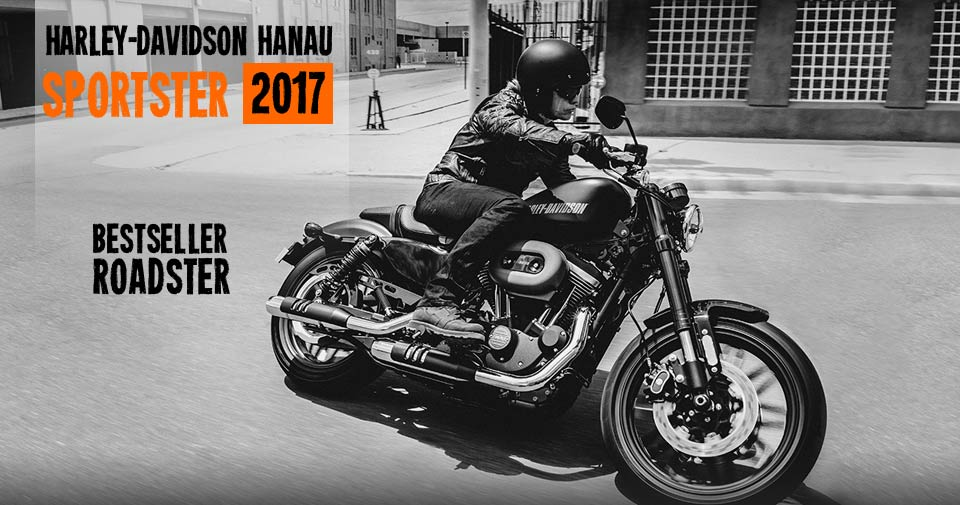 Sporster 2017: Forty-Eight, SuperLow, Iron 883, XL 1200 C, SuperLow 1200 T