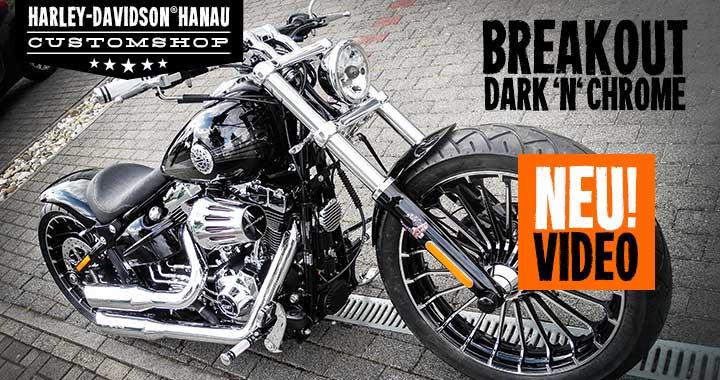 Harley Davidson Hanau: Softail Umbau Zum Custombike
