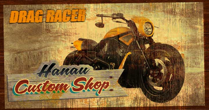 Customshop Hanau Custombike Umbau V-Rod Night Rod Special - Drag Racer