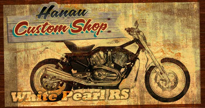 Custombike V-Rod Street Rod Special - Wihte Pearl RS