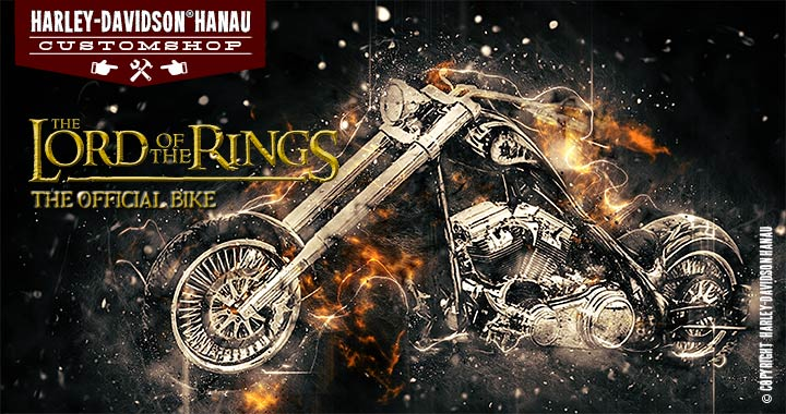 Hanau Custom Shop - Der Herr der Ringe Bike - Custombike The lord of the rings