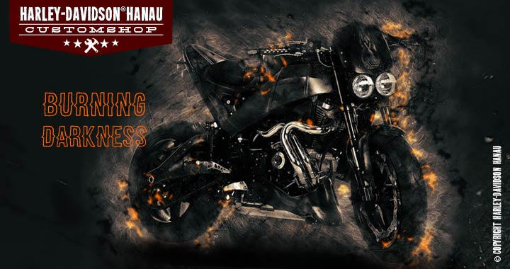 Custombike Umbau Buell XB 12 S Burning Darkness