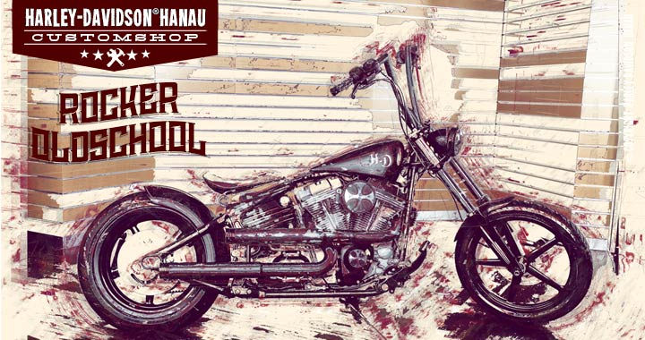 Harley-Davidson® Softail® Rocker™ Custom Bike  Oldschool