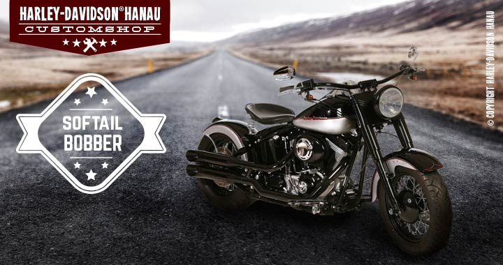 Custombike Umbau Softail Bobber