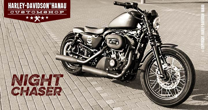 Custombike Umbau Sportster Night Chaser