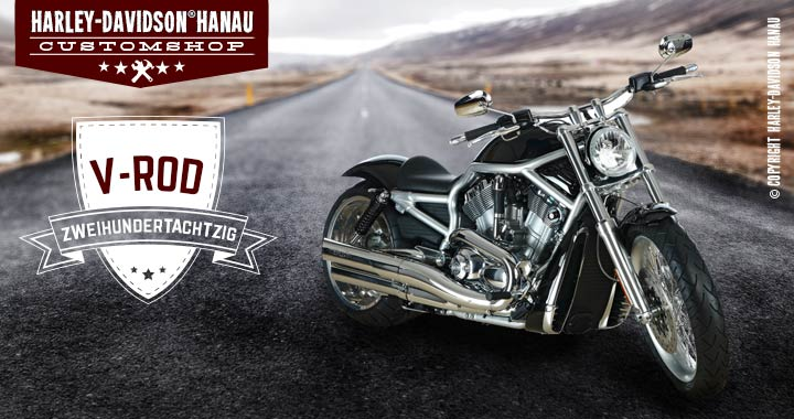 Hanau Harley Custom Shop Custombike V-Rod 280