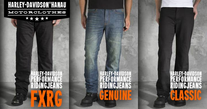 Harley-Davidson Motorclothes Riding Jeans