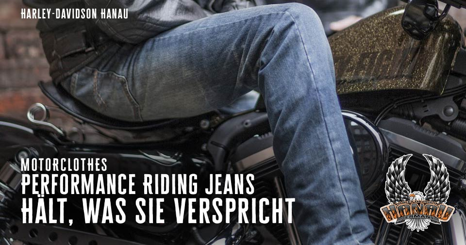 Harley-Davidson Motorclothes Performance Riding Jeans
