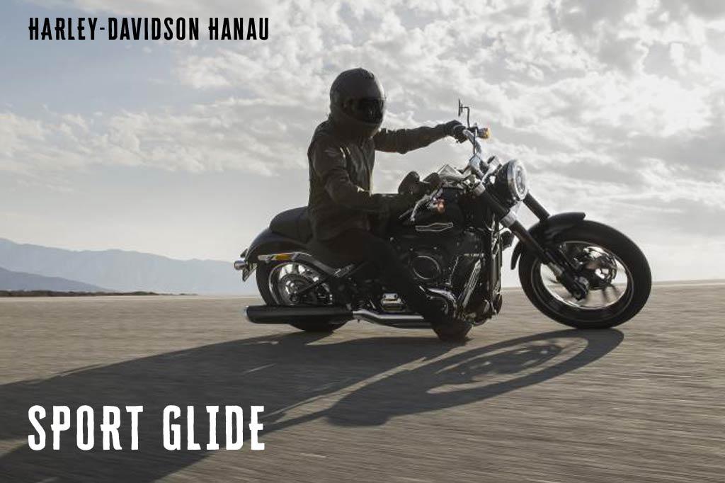 Harley-Davidson Hanau präsentiert die neue Softail Sport Glide