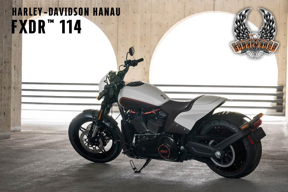 Harley-Davidson Hanau präsentiert die neue 2019er Softail FXDR 114