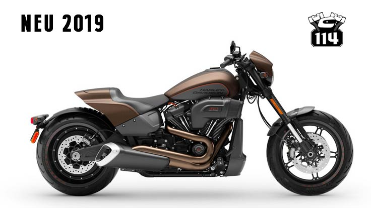 softail 2019 fxdr 114 street bob low rider fat bob. Black Bedroom Furniture Sets. Home Design Ideas