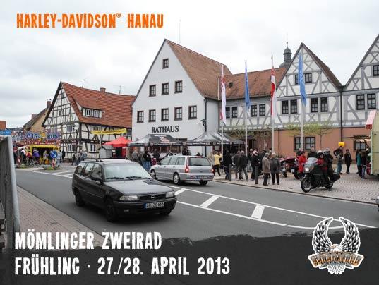 Harley Davidson Hanau: Mömlinger Zweirad Frühling