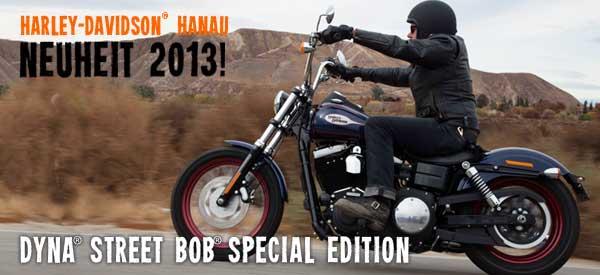 Harley Davidson Hanau: Neue Dyna Street Bob Special Edition