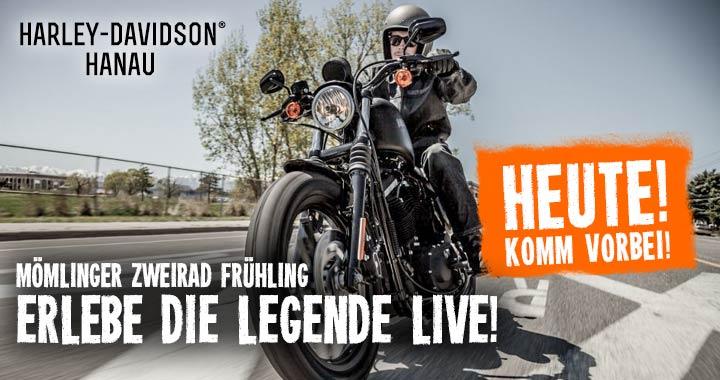 Harley Davidson Hanau: HEUTE LIVE & ACTION In Mömlingen