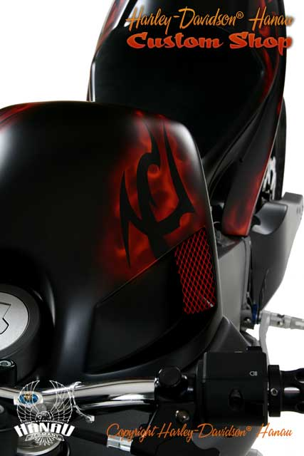 Buell XB 12 S Umbau - Burning Darkness