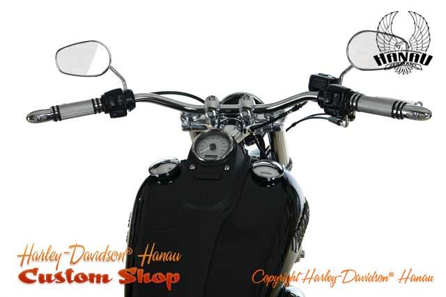 Dyna Street Bob Umbau 23 Zoll Custombike von Harley-Davidson Hanau