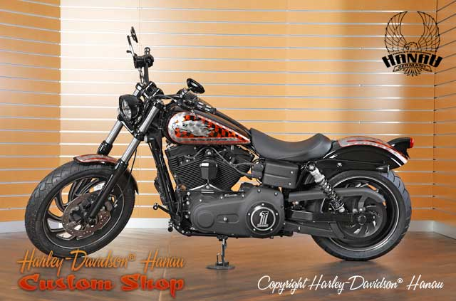 dyna street bob umbau race bob custombike harley. Black Bedroom Furniture Sets. Home Design Ideas
