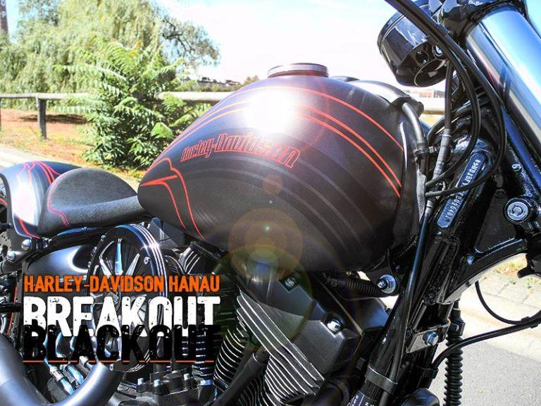 Harley Davidson Hanau: Buell XB 12 S Umbau Burning Darkness Custombike