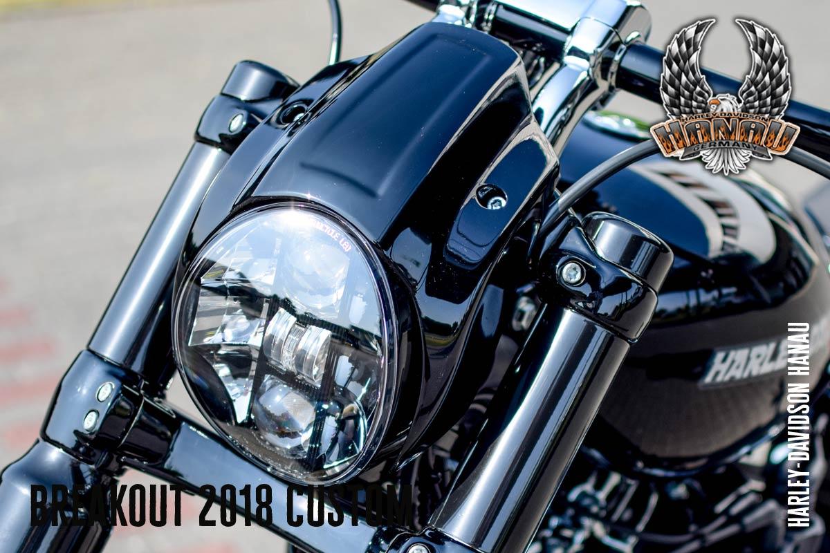 Harley-Davidson Hanau präsentiert Breakout 2018 Custom