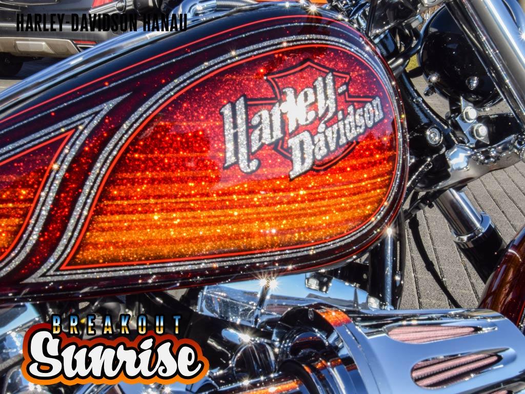 Harley-Davidson Hanau Breakout Sunrise Custombike Umbau