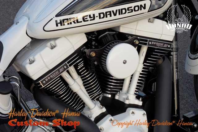 Softail Cross Bones Umbau Kontrast Custombike von Customshop Harley-Davidson Hanau
