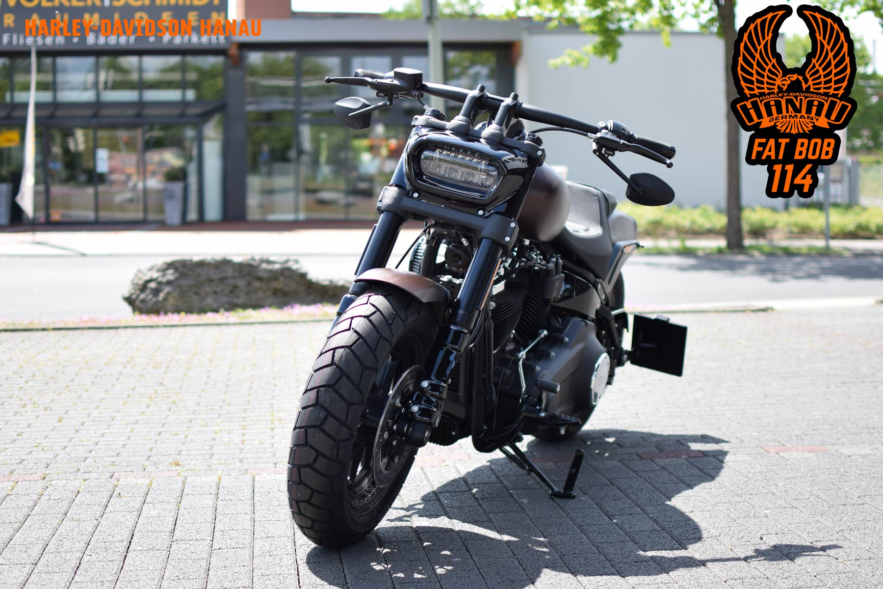 Harley-Davidson Hanau Fat Bob 114 Customclub