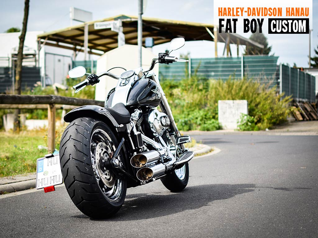 Fat Boy Custom von Harley-Davidson Hanau
