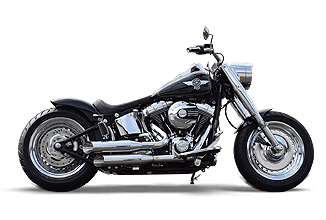 Harley-Davidson Softail Fat Boy Umbau Custom Custombike