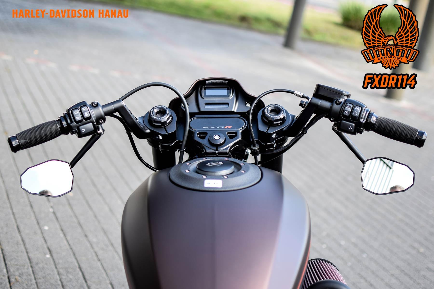 FXDR Custom - Umbau von Harley-Davidson Hanau Customshop