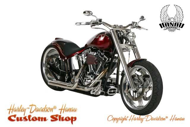 Softail Umbau Purity Custombike von Harley-Davidson Hanau