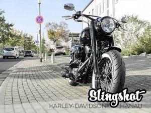 Harley-Davidson Hanau Slim Umbau Slingshot