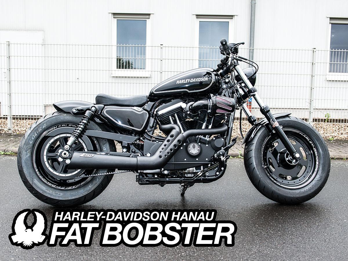 Harley-Davidson Hanau - Sportster Fat Bobster Custombike