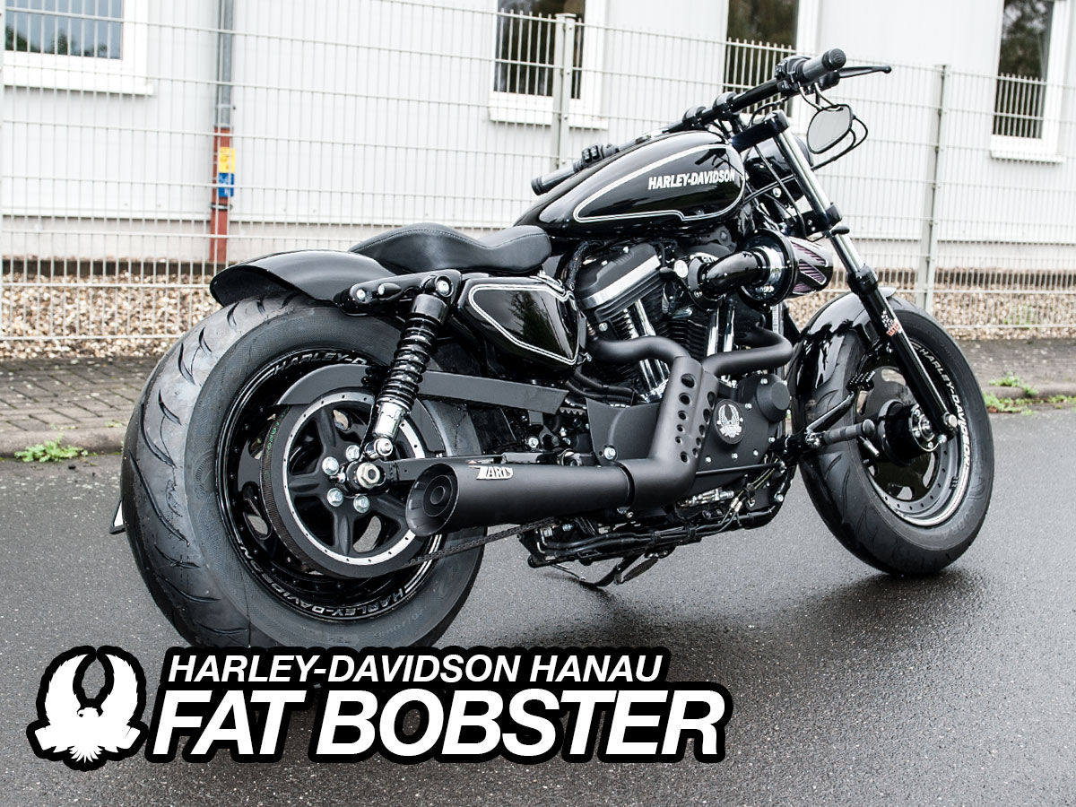 Harley Davidson Sportster Klappenauspuff