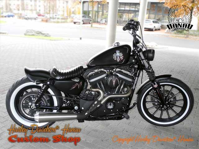 Harley Davidson Forty Eight Akrapovic