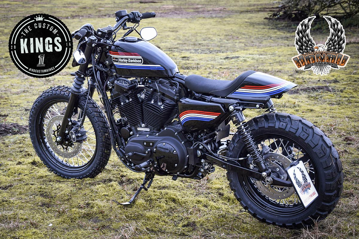 Battle of the Kings 2016: Project FTW - Harley-Davidson Hanau Sportster Iron 883 Umbau