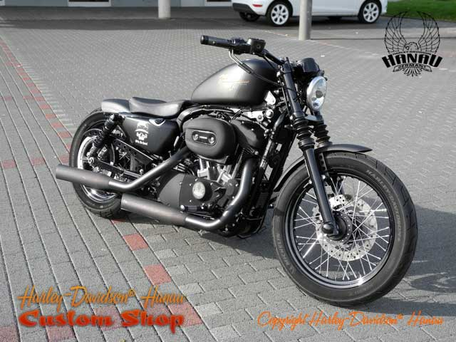 nightster umbau night chaser custombike harley. Black Bedroom Furniture Sets. Home Design Ideas