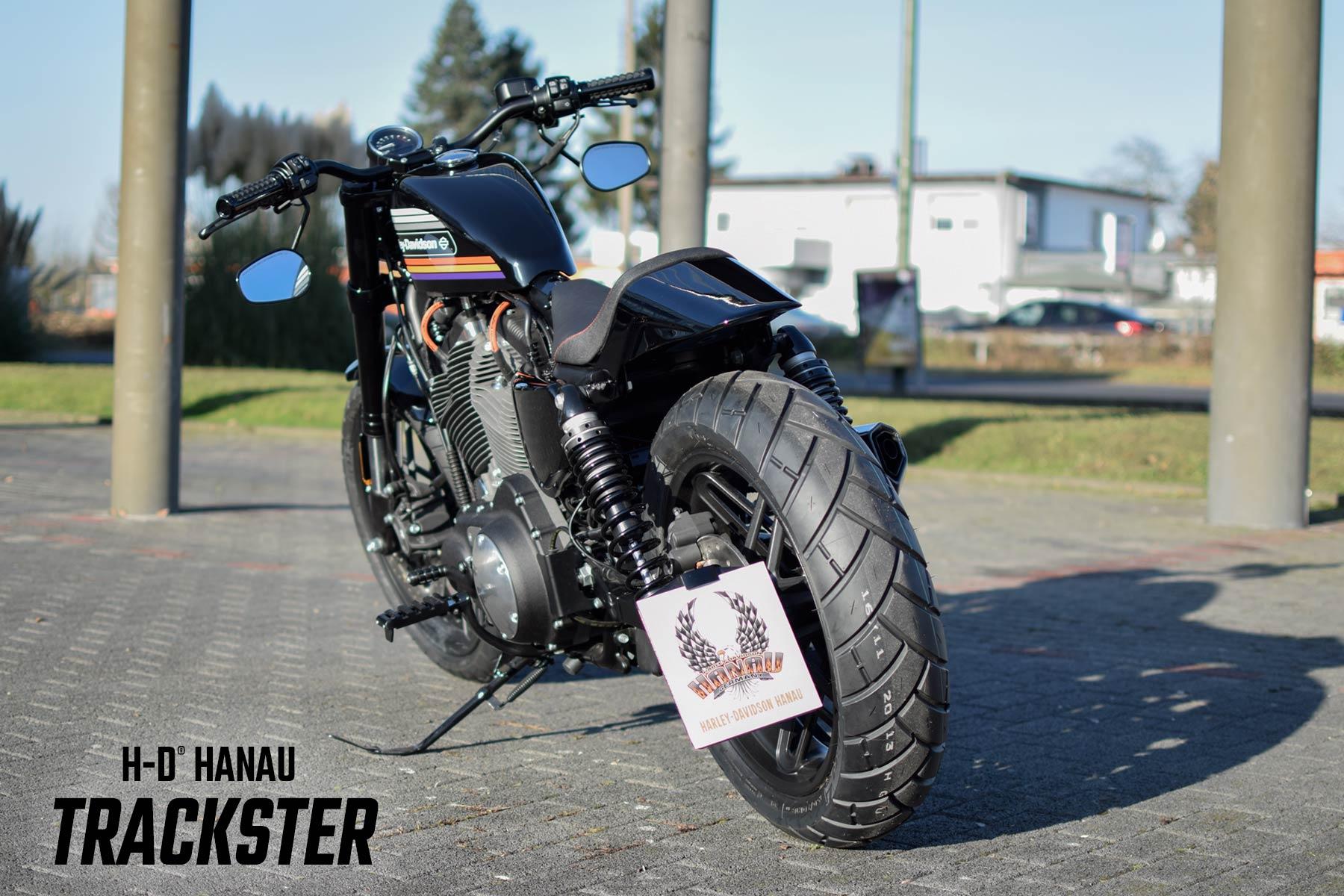Harley-Davidson Hanau Sportster Roadster Umbau Trackster Custombike