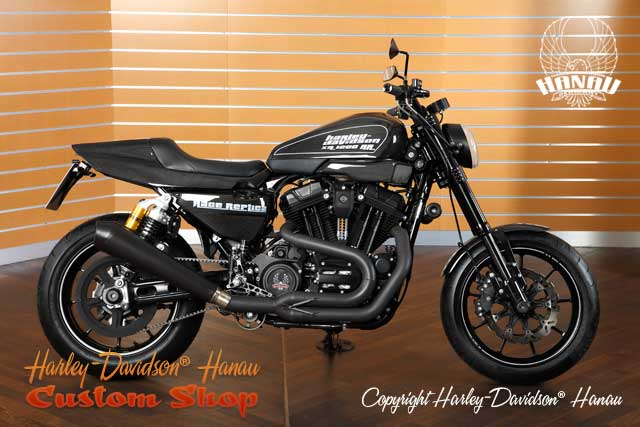 Sportster XR 1200 Umbau Race Replica Custombike umgebaut von Harley-Davidson Hanau