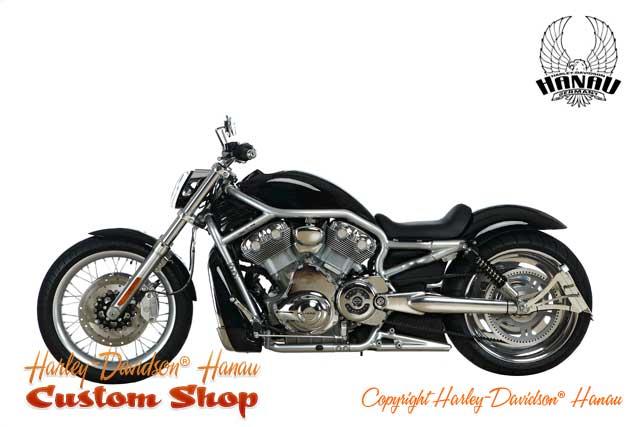 V-Rod Umbau 280 Custombike von Harley-Davidson Hanau