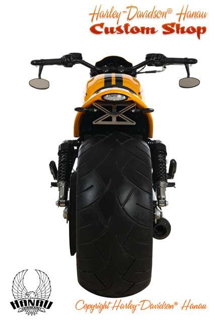 Night Rod Special Umbau zum Drag Racer Custombike durch Harley-Davidson Hanau
