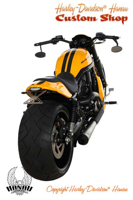 Night Rod Special Umbau zum Drag Racer Custombike durch Harley-Davidson Hanau